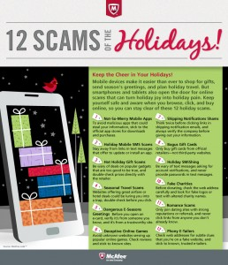Holiday Shopping and Social Scams to be mindful of. Identity theft, credit card fraud and fake charities, oh my!