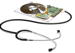 Data Recovery-Hard Drive w stethescope